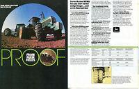 1983 2 Page Print Ad of John Deere 4640 & 4650 Farm Tractor