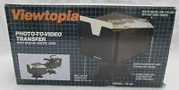 Viewtopia Portable Photo To Video Picture Transfer System Built in Macro Lens