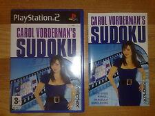 Sudoku pour Sony Playstation 2 (PS2) - Carol Vorderman's Sudoku