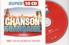 CD CARTONNE CARDSLEEVE 15t BARBARA/PIAF/BREL/FERRE/NOUGARO/BEART/MOREAU/ARNAUD