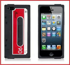 Cover Case K7 cassette cassette cassete silicone for IPhone 5 5S