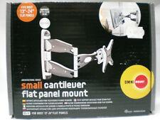 Omnimount  CL-S  Small - Kleine Teleskophalterung für Flachbildschirme  Platinum