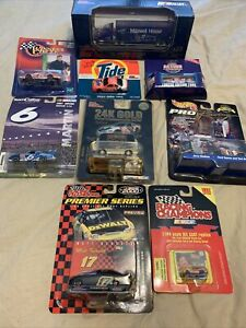 Nascar Lot 9 Cars Trucks Racing Champions Hot Wheels Action And More Vintage