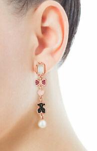 Tous Earrings~Rose Gold Vermeil / Sterling Silver