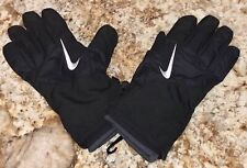 NIKE Coaches Sideline Thermal Black Winter Gloves NEW Mens Sz M MD