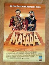 MASADA  rare German 1-sheet  1980 PETER O'TOOLE  unfolded!  Barbara Carrera