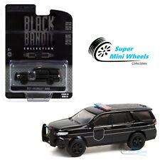 Greenlight 1:64 Black Bandit 2021 Chevrolet Tahoe - Black Bandit Police 28070-E