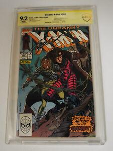 Uncanny X-Men #266 [1990] Marvel CBCS 1st Gambit Signed Chris Claremont 9.2 NM
