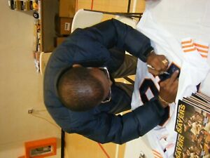 Chicago Bear Gale Sayers Autographed White Jersey