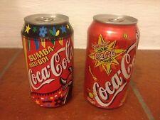 "Lattine Coca-Cola 330 ml""Rarissime"" Vecchio formato Varie nazioniLeggi)"