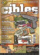 CIBLES N°462 RAID AU GRAN SASSO / SIG MOSQUITO 22LR / SP 101 EN 327 /FEDERAL MAG
