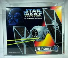 1995 Hasbro Star Wars Power of the Force POTF2 Imperial TIE Fighter AFA-U 9.0