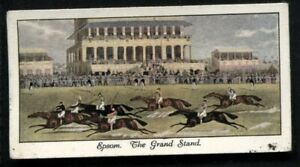 Tobacco Card, Mitchell, OLD SPORTING PRINTS, 1930, Epsom Grand Stand, #17
