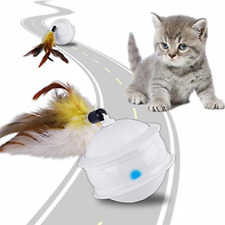 ACELIFE Cat Toys for Indoor Cats Interactive, Automatic 360 Degree Rotating 6