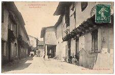 CPA 82 - LARRAZET (Tarn et Garonne) - 5. Rue Saint-Paul (petite animation)