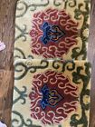 18 X 18 Wool Pillow Cover Handmade From bohem Rug Beautiful couch pillow cover