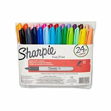 Sharpie Fine Point Permanent Marker, Assorted Colors, 24-Pack (75846)