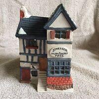 Dept 56 Jones & Co Brush & Basket MATS Heritage Village Bldg ~ 1984 --# 6515-3