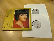 2 LP Mireille Mathieu Box Stars in Gold Sometimes Vinyl Schallplatten  Poster
