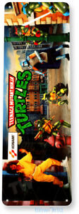 Ninja Turtles Arcade Sign, Classic Arcade Game Marquee, Game Room Tin Sign A524