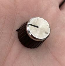 Original Vintage 1980 Marshall Amplifier Pointer control knob, grub screw, relic
