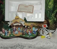 Dreamsicles Nativity 17 figures Danbury Mint 2003 Christmas Rare