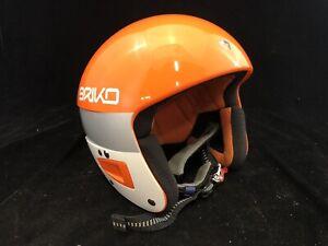 Briko Snow Helmet Vulcano 56-665 GR, Orange