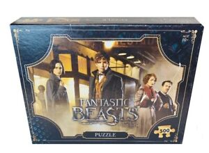 Fantastic Beasts & Where to Find Them 500 Piece  Puzzle(complete)