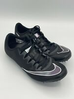 Nike Zoom Superfly Elite Men's Size 6.5 Womens 8 Black Track Field 835996-002