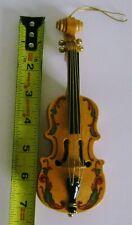 San Francisco Music Box violin cello Christmas Ornament Plays Music - So Unique