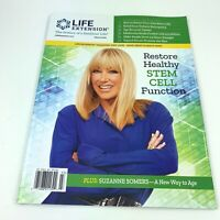 LIFE EXTENSION Mar 2020 Suzanne Somers New Way To Age Restore Stem Cell Function