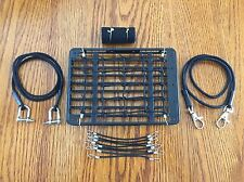 Scale Roof Net + 2 Tow Ropes + 8 Bungee Cords + Sleeping Bag/Land Rover Defender