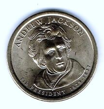 2008-D $1 Andrew Jackson Brilliant Uncirculated 7TH Presidential Dollar Coin!