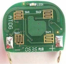 ELVAT0E keyless remote clicker transmitter ATDG replacement circuit board ONLY