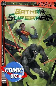 FUTURE STATE BATMAN SUPERMAN #1 (2021) 1ST PRINTING MAIN COVER DC COMICS