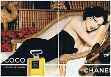 PUBLICITE ADVERTISING 104 1996 COCO l'esprit CHANEL  (2 pages)