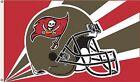 Tampa Bay Buccaneers Huge 3'x5' NFL Licensed Helmut Flag /Banner -Free Shipping