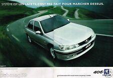 Publicité Advertising 2001 (2 pages) Peugeot 406