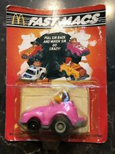 1985 Fast Macs Pull Em Back Toy Car Mcdonalds Birdie The Early Bird Sun Cruiser