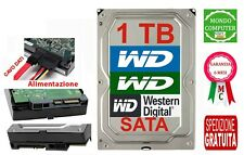 WESTERN DIGITAL 1 TB HARD DISK SATA  WD10B-AP INTERNO PC FISSO BLUE,GREEN,BLACK