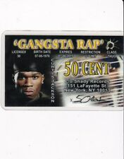RAPPER of NEW YORK CITY NY Drivers License card