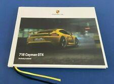 Exclusive PORSCHE 718 GT4 Cayman BROCHURE Hardcover 2021 2020