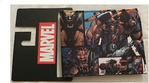 Marvel X-Men Wolverine Bifold Wallet X-Men Wolverine Sublimated New