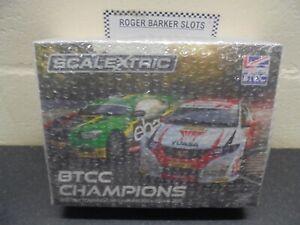 Scalextric C3694A  BTCC Car Champions  Twin pack BNIB