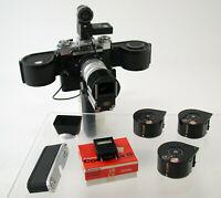 ZEISS IKON Contarex SE Planar 2/50 250 Film bulk back Magazin Motor Drive /19K