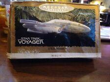 Star Trek Voyager Hallmark Keepsake Ornament 1996 Light Magic NIB