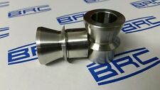"1 Pair 1"" - 3/4""  Misalignment Spacers. Stainless Steel. Heim Joint. Rod End."