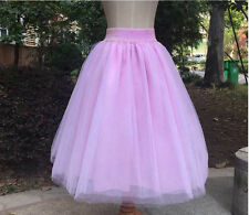 Clubwear Party Women Full Skirt Length Tulle Skirts Adult Tutu Ball Gown Dress