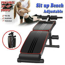 Adjustable Sit up Bench Crunch Board Abdominal Fitness Home Gym Exercise Workout