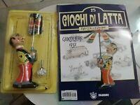 GIOCO IN LATTA GIOCOLIERE 1932 Anni60  Made in Japan da collezione+Rivista